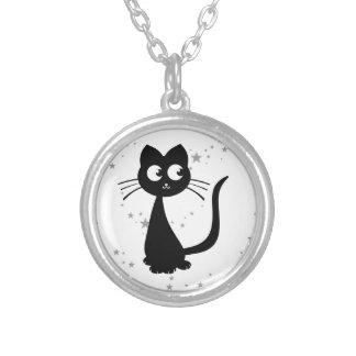 Kitty Kuro Round Pendant Necklace