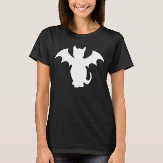 Kitty Lectro Gothic Bat Cat T-Shirt