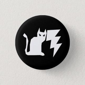 Kitty Lectro Lightning 3 Cm Round Badge