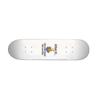 Kitty Litter Skate Board Deck