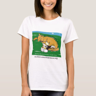Kitty Logo Shirt (Green Logo)