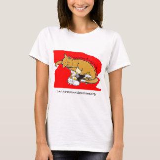 Kitty Logo Shirt (Red Logo)