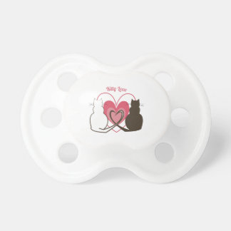 Kitty Love Baby Pacifiers