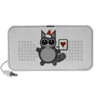 Kitty Love for the Holidays iPhone Speaker