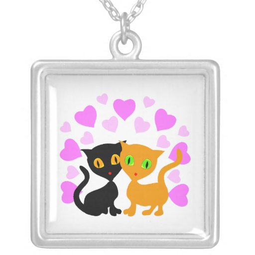 Kitty Love Personalized Necklace