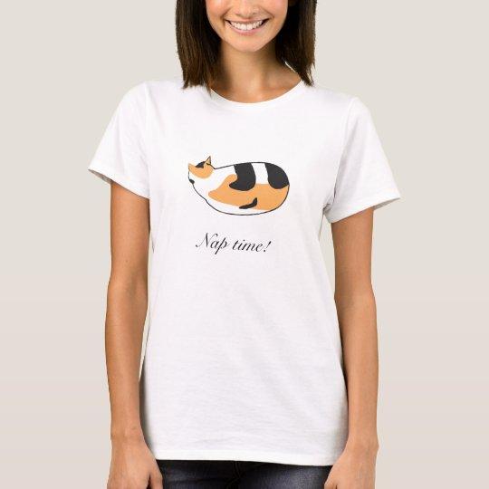 Kitty nap time! T-Shirt