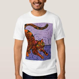Kitty of the Rising Sun T Shirts