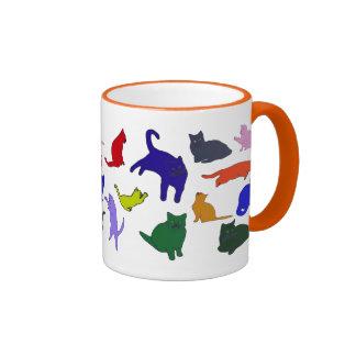 Kitty Pattern mug