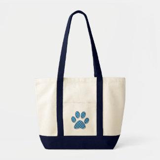 kitty paw print bags