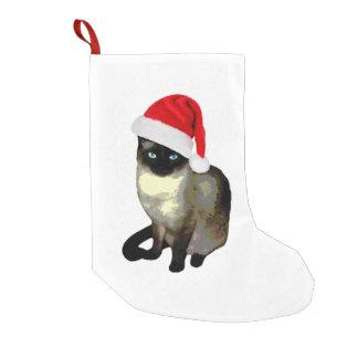 Kitty Paws, Siamese cat Christmas Stocking