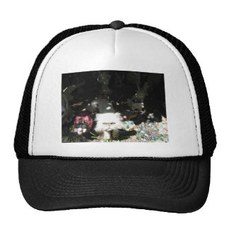 kitty people mesh hat