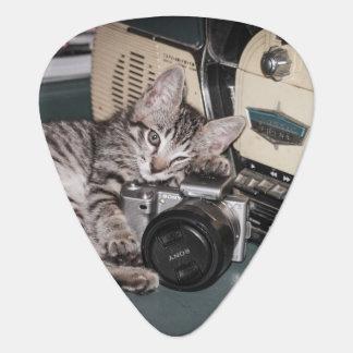 Kitty photographer plectrum