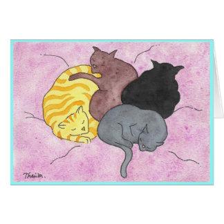 Kitty Pile Card