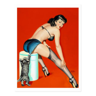 Kitty Pulp Pin Up Postcards