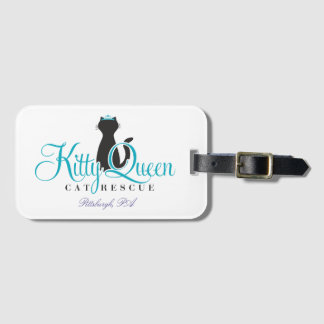 Kitty Queen luggage tag