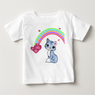 Kitty Rainbow T Shirts
