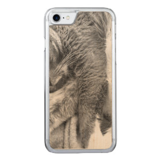Kitty Relax Carved iPhone 8/7 Case