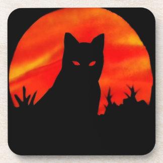 Kitty s Harvest Moon Drink Coasters
