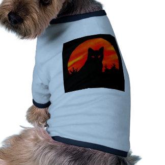 Kitty s Harvest Moon Pet Tee Shirt