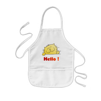 Kitty Says Hello Aprons