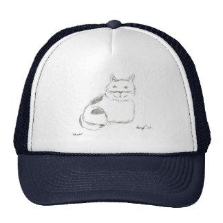 Kitty Sketch Hat