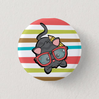 Kitty Smarty 3 Cm Round Badge
