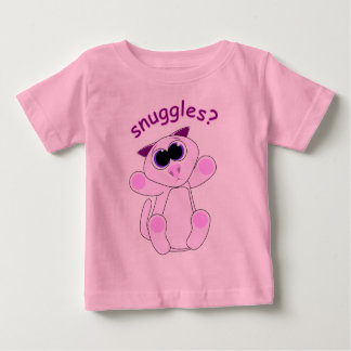 Kitty Snuggles - Customized Baby T-Shirt