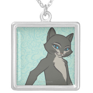 Kitty Softpaws Silver Plated Necklace