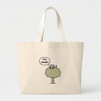 Kitty Stuck In Tree Bag