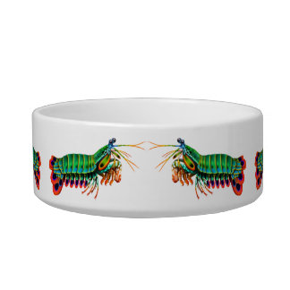 Kitty Sushi Mantis Shrimp Cat Bowl