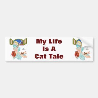 Kitty Tales Bumper Stickers