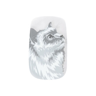 Kitty Tips Minx Nail Art