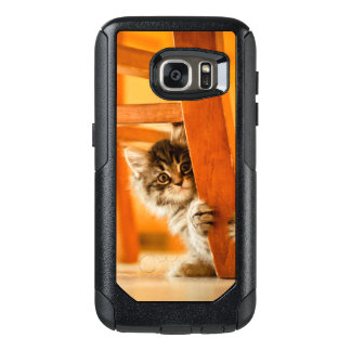 Kitty Under Chair OtterBox Samsung Galaxy S7 Case