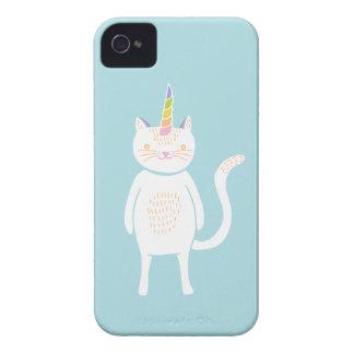 Kitty Unicorn iPhone 4 Case-Mate Case