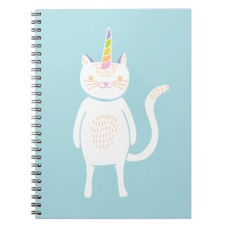 Kitty Unicorn Notebook