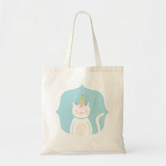 Kitty Unicorn Tote Bags