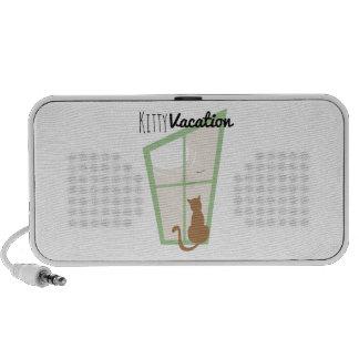 Kitty Vacation Notebook Speaker
