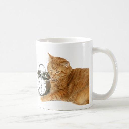 Kitty wake up coffee mugs