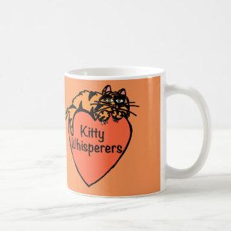 Kitty Whisperers Orange Mug