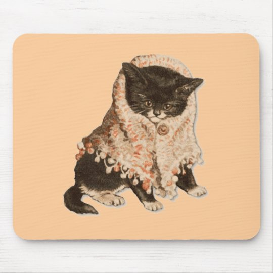 Kitty Wrap Mousepad