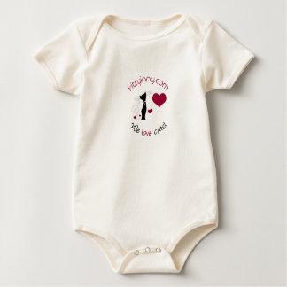 kittyinNY baby bodysuit