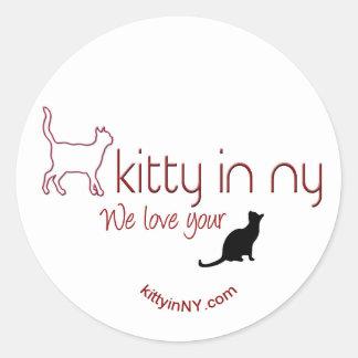 kittyinNY - stickers