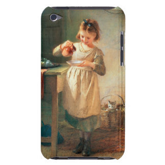 Kitty's Breakfast Barely There iPod Case