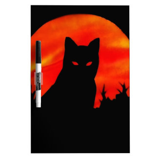 Kitty's Harvest Moon Dry Erase White Board