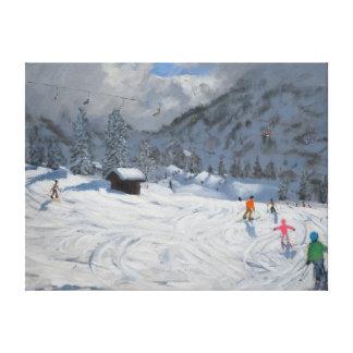 Kitzbuhel Austria 2008 Canvas Print