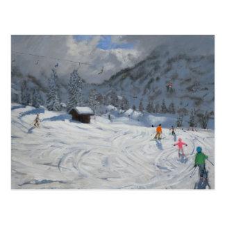 Kitzbuhel Austria 2008 Postcard