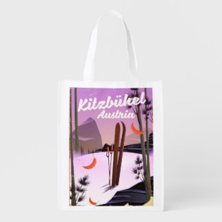 Kitzbühel Austria Reusable Grocery Bag