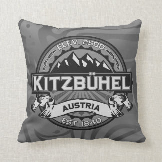 Kitzbühel Logo Throw Pillow