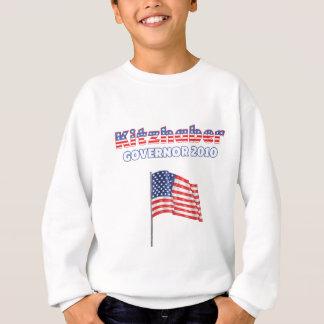 Kitzhaber Patriotic American Flag 2010 Elections Tee Shirt