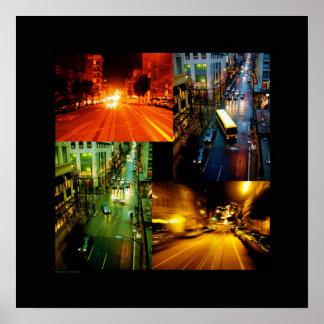 KIW Sparks Street-Scene Poster